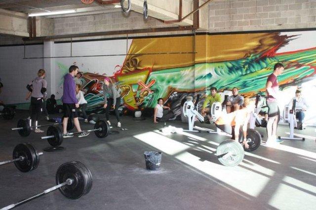 тренировка спортзале для сжигания жиров