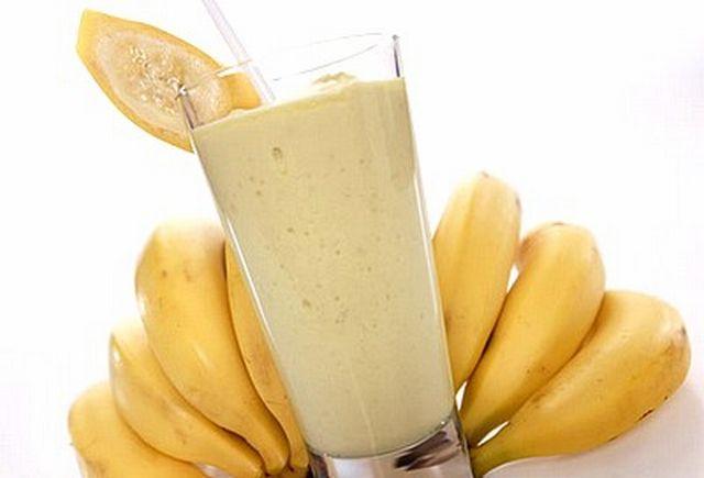 Как сделать смузи банан молоко 569