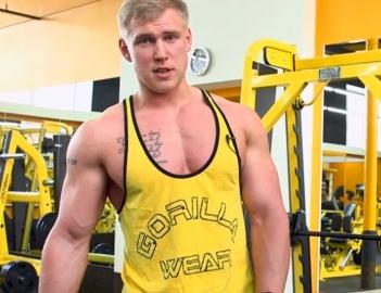 Фитнес-модель Сергей Миронов