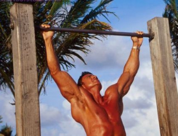 Упражнения на турнике на мышцы спины