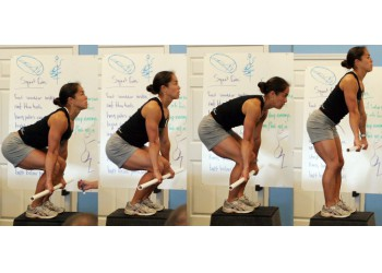 Становая тяга и тяга сумо до подбородка