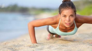 Женский фитнес и идеальный бюст
