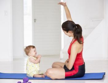 Спорт в жизни женщины после родов