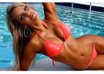 Фитнес-модель Сара Аллен (Sarah Allen)