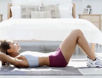 Занятия фитнесом дома: пример тренировки