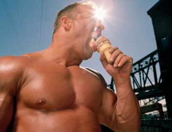 Бодибилдинг и мороженое