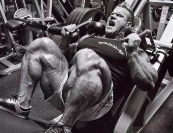 Тренировка ног от Джея Катлера