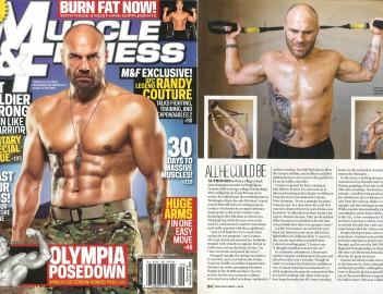 Обложка журнала Muscle & Fitness